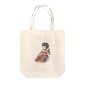 市松人形 聖(ひじり) Tote bags