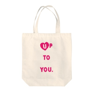 Up to you〜自分次第 Tote bags