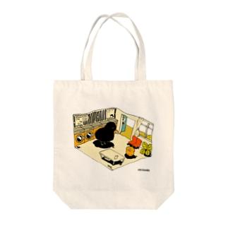 YASHINO CLUB SHOPのcoin laundry(テイクアウト推進原価奉仕) Tote bags