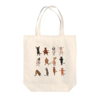 牛さん体操 Tote bags
