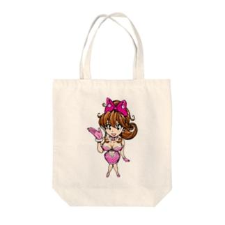 ヨーコちゃん Tote bags
