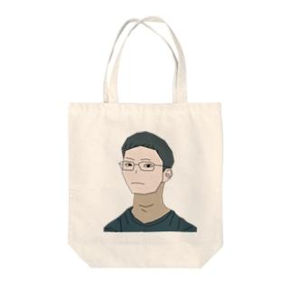石川君 Tote bags
