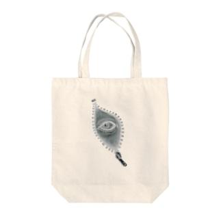 NOZOKU Tote bags