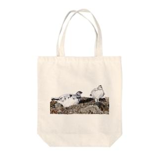 雷鳥のカップル Tote bags