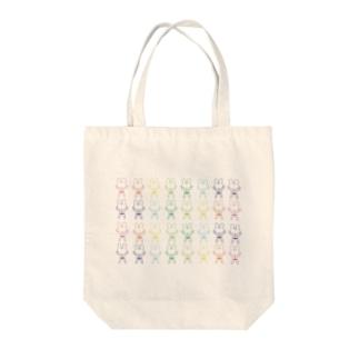 ウサヲバッグ Tote bags