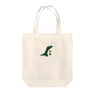 わにさん Tote bags