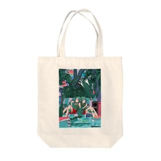 Summer Room Tote bags