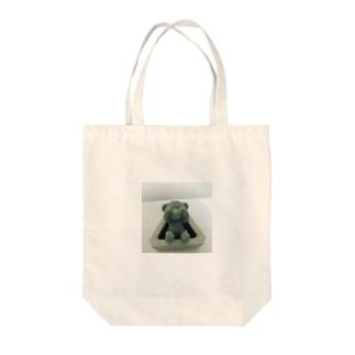 三輪べあ Tote bags
