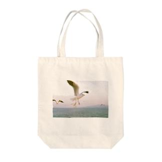 鴎 Tote Bag