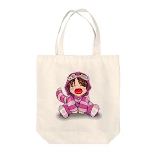 ちぇしゃエレガンス(透過) Tote bags