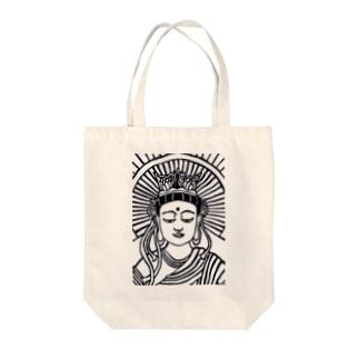 菩薩シリーズ Tote bags