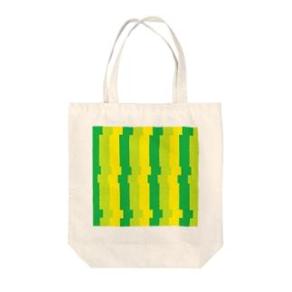 タテジマ Tote bags