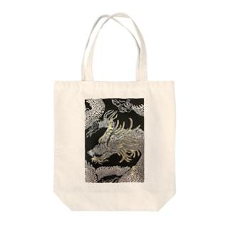 龍神 Tote bags