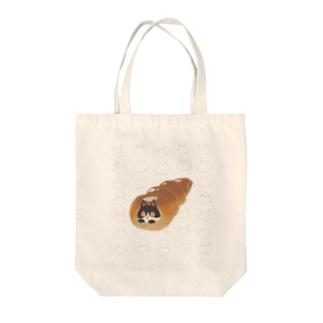 チョココロネコ Tote bags