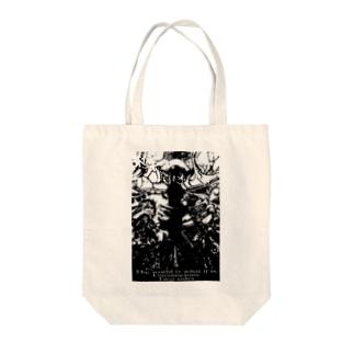 グランド・オベリスク(モノクロ) Tote bags