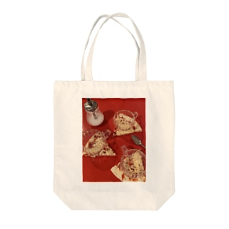 PIZZAコースター Tote bags