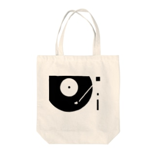 Playing RECORD.  Tote bags