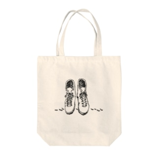 keep going Tote bags