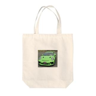 しげちゃんお気に入りの車です😍なかなか見れないレアポルシェです🤩身に着けてることで Tote bags