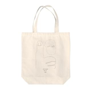 ナルホド Tote bags