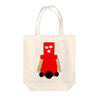 ロボットが好きな人向け Tote bags