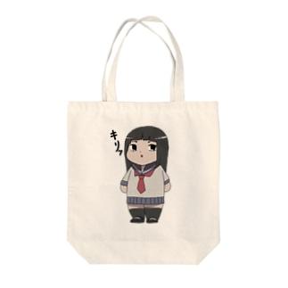 キメ顔れいかちゃん Tote bags