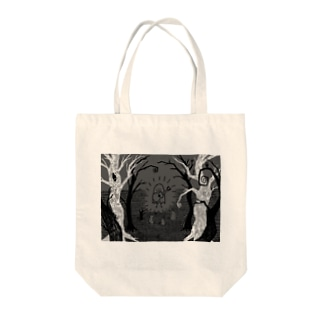 森のコンサート Tote bags