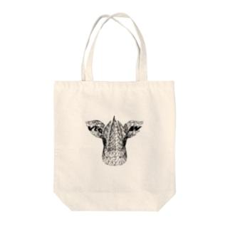 VEGAN COW Tote bags