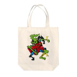 HARD_LIFEな兎 Tote bags