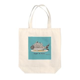 お魚スープ 各種バッグ Tote bags