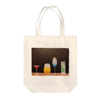 季節のカクテル Tote bags