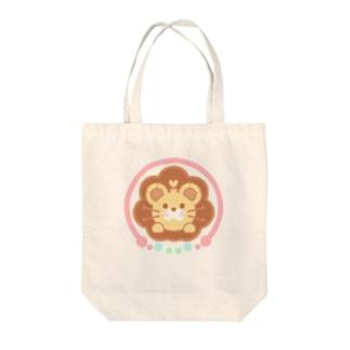 りおん Tote bags