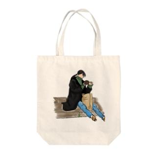 Girl&Donut Tote bags