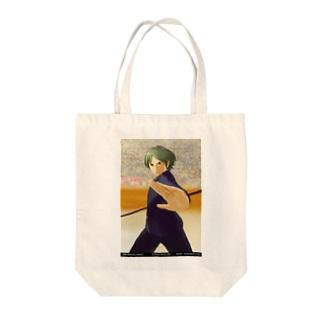 闘技演武【公式グッズ】MGF06若き英雄ヨシュア Tote bags