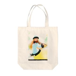 闘技演武【公式グッズ】MWF01情熱の風ライラ Tote bags