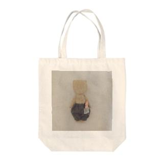 ポケットにパンを Tote bags