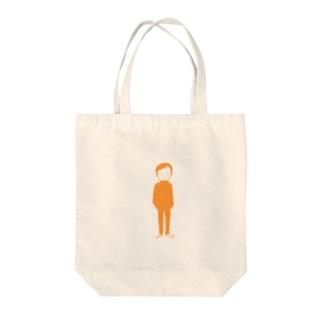 おとこ_1 Tote bags