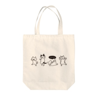ダンシングネコ Tote Bag