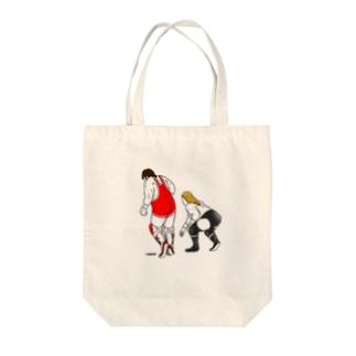 殺人魚雷 Tote bags