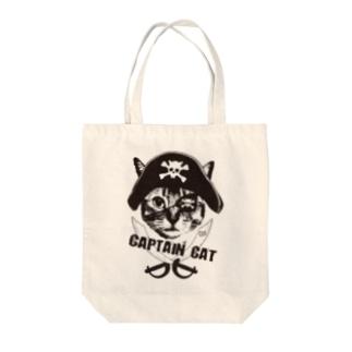 Nobigao 海賊猫 Tote bags
