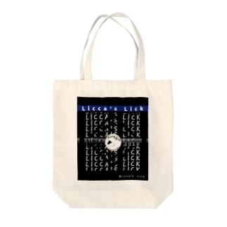 リッカーズロゴ&文字 Tote bags