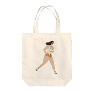 マミちゃん Tote bags