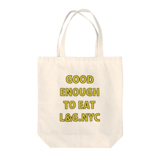 Lucy&Glutton.NYC.No.3 Tote bags