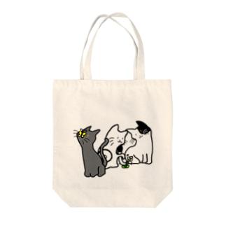 ネコさんデザイン Tote bags