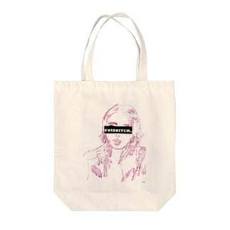 Evisbitch.  ビッチだと思われる人 Tote bags