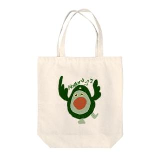アボバード Tote bags