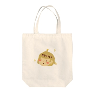 ねぐせちゃん Tote bags