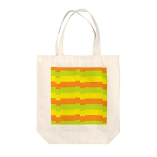 ヨコジマ Tote bags