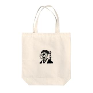 日本髑髏 Tote bags