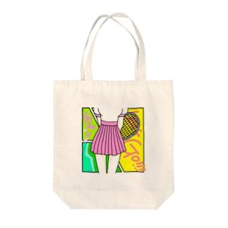 テニス部のマドンナ Tote bags